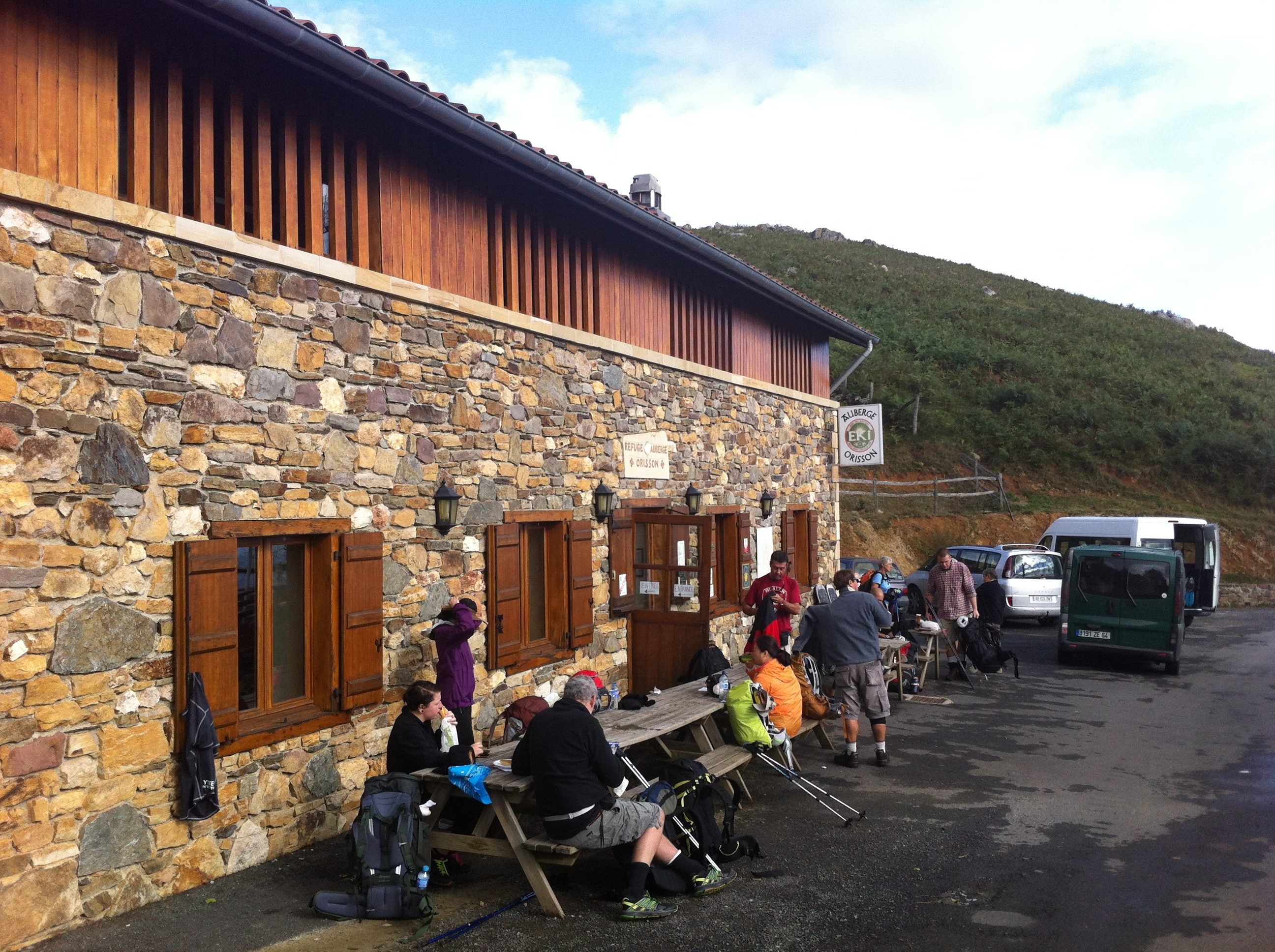 Day 1 st jean pied de port to roncesvalles 26km iwouldwalk500mls - Albergue st jean pied de port ...